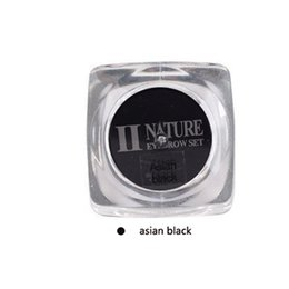 Wholesale Micro Pigment Cosmetic - 100% Nature Plant Extract Tattoo Paste Eyebrow Pigment for Microblading Micro Pigment Cosmetic Makeup Asian Black Color free shipping