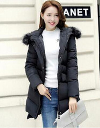 Wholesale Qiu Dong Jacket - Woman qiu dong han edition business English new fashion boutique personality big yards down cotton-padded jacket coat   S-2XL