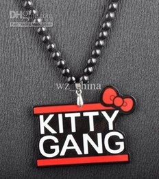 Wholesale Hiphop Good Wood - Kitty Gang goodwood good wood nyc acrylic hiphop necklace