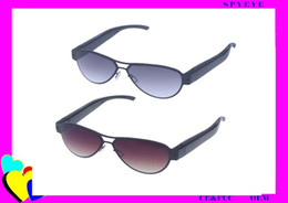Wholesale Eyewear Spy Sunglasses Camera - New arrival Eyewear video recorder glasses hidden spy glasses Full HD 1920*1080 new sunglasses camera with factory price