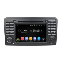 Wholesale Mercedes Gps Radio - High quality Andriod 5.1 Car DVD player for Benz ML350 with GPS,Steering Wheel Control,Bluetooth, Radio