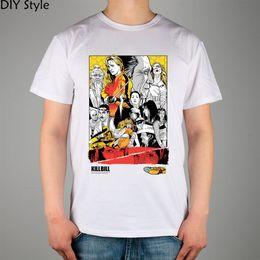Wholesale cotton lycra shirts wholesale - Wholesale- Kill Bill Quentin Tarantino ART T-shirt cotton Lycra top Fashion Brand t shirt men new high quality