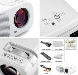Wholesale Cheapest Full Hd Projector - Wholesale- 2015 New Home Theater 3000lumens 800*600 Video TV HDMI USB LCD LED 3D Projector FUll HD 1080P Beamer Proyector Projetor Cheapest
