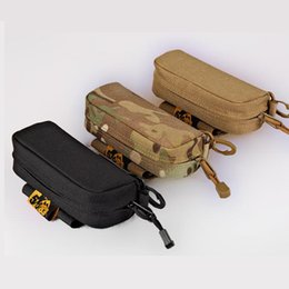 Wholesale Multi Camo Pouch - Tactical Camouflage Sunglasses Carry Case Glasses Shockproof Protective Box Pocket Hunting Outdoor Sports Pouch Bag CP Camo