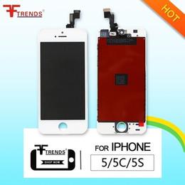 Noir Blanc pour iPhone 5 5C 5S Digitizer à écran tactile LCD Assemblage complet avec cadre froid Appuyez sur le panneau tactile 100% testé ? partir de fabricateur