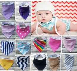 Wholesale Navy Blue Cotton Scarf - Wholesale- Baby Bandana BibDrool Bib,Blue Navy Hickory Stripes,Purple Denim Solid,Scarf Bib,Baby Bib,Boy,Girl,Super Soft Cotton