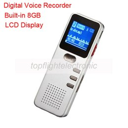 Wholesale memory definitions - Wholesale- E90 Built-in 8GB Memory Support MP3 Player VOR Timing Recording High-definition Digital Voice Recorder