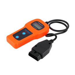 Lector de audio online-U281 Airbag Auto Car Care Memoscanner herramienta de diagnóstico del automóvil Engine Code Reader herramienta de escaneo para audi
