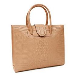 Wholesale trend big bags - Lady handbag crocodile graiin 2017 new dashion trends a undertakes big single shoulder bag