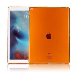 Wholesale Clear Ipad Mini Cases - New TPU Case for ipad 2 3 4 mini air2 pro 2017 ipad 9.7 10.5 12.9 solid color tpu skins protector Cover case colorful gel cases Shell GSZ222