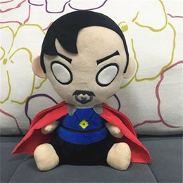toy doctor doll Coupons - 8 Inch Avengers Doctor Strange Plush dolls toys EMS 20cm children cartoon Superhero Doctor Strange Plush dolls toy B
