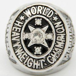 Wholesale Rocky Ring - 2015 New Design Replication 1952 Rocky Marciano Heavyweight Boxing Championship Rings Men Jewelry