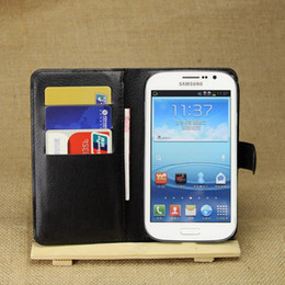 Wholesale Grand Gt - PU Leather Case For Samsung Galaxy Grand Neo Plus I9060i I9060 GT gt-I9060i Cover For Galaxy Grand Duos i9082 GT-i9082 i9080