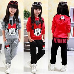 Wholesale Sweatshirts Leopard - Toddler Baby Girls Kids Warm Clothing Set Winter Autumn Sweatshirt Tops+Pants 2pcs Outfits