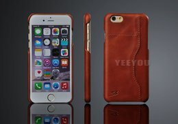 Wholesale Iphone Back Covers Unique - The unique back cover with Luxury Genuine cow leather case for iphone 7,iphone 7 Plus