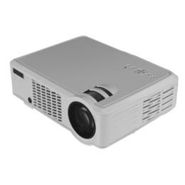 Wholesale Cheap Hd Lights - Wholesale-3000Lumens cheap digital projector cinema hd LED support 1080P projetores video led light projector 2016 enjoy newest