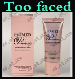 Wholesale 3PCS Factory direct latest too faced Primed Poreless hidden pores PRIME makeup before the milk moisturizing moisturizing