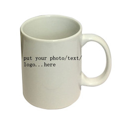 Wholesale Print Mugs - Personalized Customized printing your photo here 3 Types Newest Design Magic Color Changing Coffee Mug creative Gifts