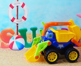 Wholesale Child Boy Model Beach - Children Beach Toy Car Large Beach Inertia Engineering SimulationChild Excavator Models And Manual Toys