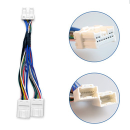 Wholesale Wholesale Nissan Maxima - Nissan Maxima Pathfinder Murano Almera 350Z Y Splitter Car Radio Cable Wiring Harness for External CD Changer MP3 Navigation