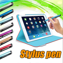 Wholesale Note Stylus - Stylus Pen Touch Pen Universal Capacitive Screen Highly Sensitive For iPhone X 8 7 Plus 6 6S 5 iPad 6 5 iTouch Samsung S8 S7 S6 Edge Note 5