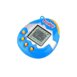 Wholesale Electronic Toys Wholesale - 6 style 49 Virtual Cyber Digital Pets Electronic Tamagochi Pets Retro Game Funny Toys Handheld Game Machine Gift For Children