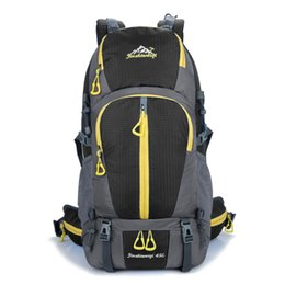Wholesale Internal Frame Pack - 45L Internal Frame Outdoor Backpack Climbing Bag Unisex Travel Camping Outdoor Sport Backpack