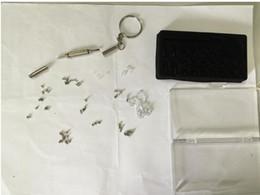 Canada échantillon test lien Outils à main et Pratique 3en1 Tournevis Lunettes de Vue Kit de réparation de lunettes de soleil avec Trousseau en acier inoxydable Tiny Screw Kit Kit Outils Offre