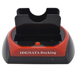 "Wholesale Dual Ide Docking Station - Wholesale- New All In 1 One HDD Docking Station Dual USB 2.0 2.5"" 3.5"" IDE SATA External HDD Box Hard Disk DRIVE Enclosure 3TB"