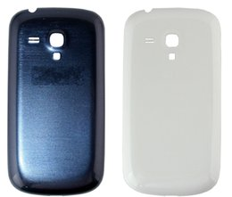 Wholesale S3 Case Logo - 50pcs New I8190 Battery Door Back Housing Cover For Samsung Galaxy S3 Mini I8190 Back Battery Case With Logo Free Tracking