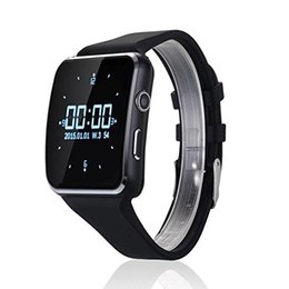 "Wholesale Hot Portuguese - Hot Bluetooth Smartwatch 1.54""inch IPS HD Smart Watch Heart Rate Fitness Tracker For Android iOS Smartphones X6"
