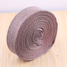 Wholesale Finish Cleaning - kitchen wash cloth fabric semi-finished products scouring pad sponge block wash cloth kitchen clean sponge