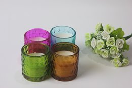 Wholesale Sailing Candles - Hot Sailing Hanging Mosaic Glass Candle Holders