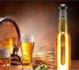 Wholesale Liquor Alcohol Bottle - 150Pcs Stainless Steel Wine Liquor Chiller Cooling Ice Stick Rod In-Bottle Pourer Beer Chiller Stick Chill Alcohol Ice Drinks Wine Cold
