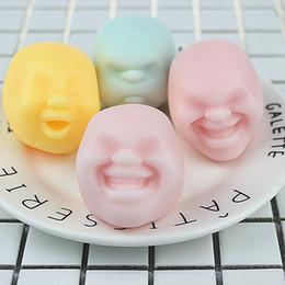 bonecas engraçadas Desconto Novo Super fofo Colorido Face Humana brinquedo da Forma do rosto Humano boneca de ventilação descompressão Engraçado brinquedos IA613