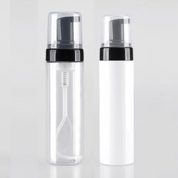 Wholesale Packaging Foams - Free shipping 20pcs lot 150ml transparent foam pump bottles,DIY cosmetic packaging