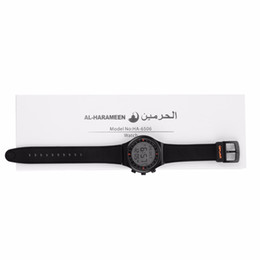 Wholesale Muslim Clock - Wholesale-Discounted price for Muslim azan watch Russian No.1 Selling for islamic prayer watch automatic Azan clock