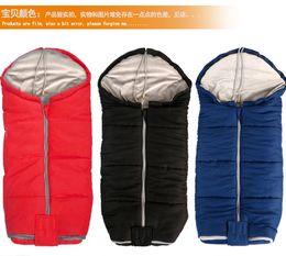 Wholesale Toddler Baby Sleeping Bags - Winter Outdoor Essential Stroller Baby Sleeping Bag Toddler Footmuff Children Warm Bag