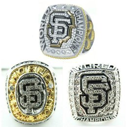 Wholesale Giant Party Ring - 2010 2012 2014 Championship rings San Francisco Giant team Super champion ring