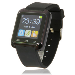 Wholesale Cheap Bluetooth Camera For Android - 2016 cheap bluetooth watch android smart watch phone U80 smart watch