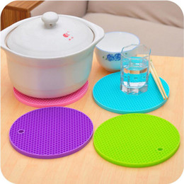 Wholesale Table Slip Mat - Table Mats Non-Slip Heat Resistant Mat Coaster Cushion Placemat Pot Holder Table Silicone Mat Kitchen Accessories