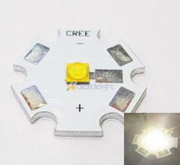 Wholesale 1w Led Pcb - Wholesale- 5PCS Cree XLamp XT-E XTE Neutral White 1W 3W 5W LED Light Emitter Bulb 4500K 20mm Star PCB Free Shipping