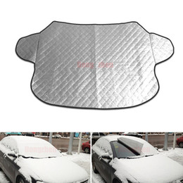 Wholesale Car Snow Brushes Scrapers - Window Sunshade Covers Car Sun Reflective Shade Windshield Snow Cover