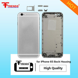 Wholesale Iphone 5c Metal - High Quality A+++ for iPhone 5 5C 5S 6 6Plus 6S 6SPlus Plus Housing Back Battery Cover Mid Frame Rear Metal 10pcs lot