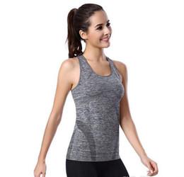 Séchage rapide des femmes gilet de remise en forme haute fitness - gymnastique de yoga en cours d'exécution élastique ? partir de fabricateur