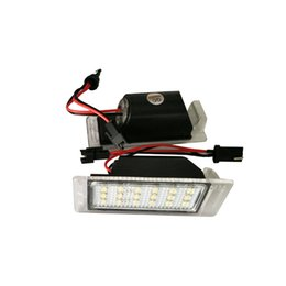 Wholesale Chevy Led - 2PC X dahosun LED License Lamp for Chevrolet Chevy Cruze Number Plate Light