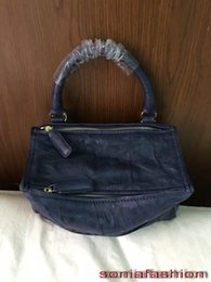Echte pandora online-Großverkauf-klassische Art und Weisefrauen Pandoratasche-Rindlederlederfrauenhandtaschenspitzenqualitätsdame Kreuzkörper pandora Tasche