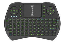 Wholesale Bluetooth Computer Remote - Rii i9 keyboards Fly Air Mouse Multi-Media Remote Control Touchpad Handheld PC Wireless Bluetooth Keyboard For TV BOX Android Computer