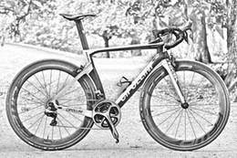 Wholesale Wheel Black 18 - White-Black Cipollini NK1K road bike with 5800 R8000 Groupset including NK1K carbon road Frames+Handlebar+50mm carbon wheels free shipping