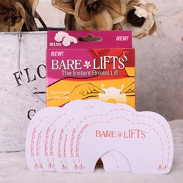 Wholesale Breast Lift Tape Wholesale - Instant Breast Lift Tape Bust Lifting Invisible Breast Stickers Brassiere Sticker BareLift Chest Lift Free DHL